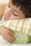 Eu amo meu despertador Imagem de Stock Royalty Free