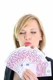 Eu amo meu dinheiro Foto de Stock Royalty Free