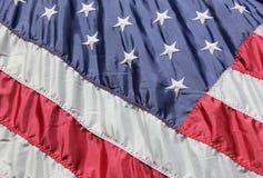 Eu amo minha bandeira Imagens de Stock