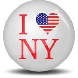 Eu amo New York Fotografia de Stock Royalty Free