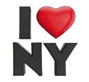 Eu amo New York Imagem de Stock