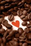 Eu amo o café Imagens de Stock