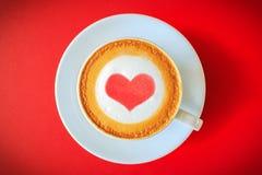 Eu amo o café Foto de Stock