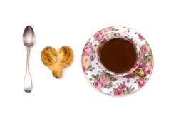 Eu amo o chá fotografia de stock
