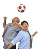 Eu amo o futebol Fotos de Stock Royalty Free