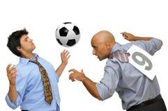 Eu amo o futebol Foto de Stock