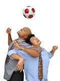 Eu amo o futebol Fotografia de Stock Royalty Free