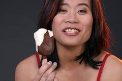 Eu amo o gelado Fotografia de Stock Royalty Free