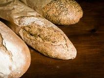 Eu amo o pão Imagens de Stock Royalty Free
