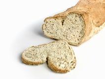 Eu amo o pão Fotografia de Stock Royalty Free