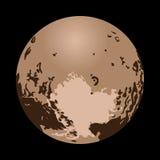 Eu amo o Plutão Imagens de Stock