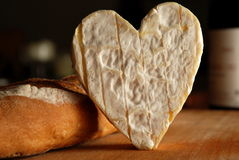 Eu amo o queijo Foto de Stock