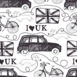 Eu amo o Reino Unido Foto de Stock Royalty Free