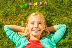 Eu amo o verão! Fotografia de Stock Royalty Free
