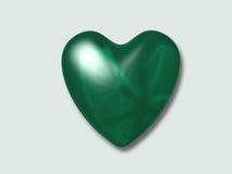 Eu amo o verde Imagens de Stock