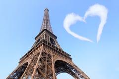 Eu amo Paris Foto de Stock Royalty Free