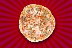 Eu amo a pizza Imagem de Stock Royalty Free