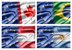 EU And Countries Royalty Free Stock Image