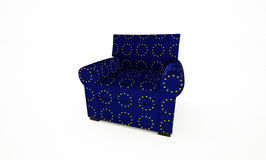 EU Armchair Royalty Free Stock Images