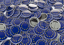 EU badges Royalty Free Stock Photos