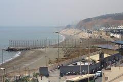 EU border Ceuta Royalty Free Stock Photography