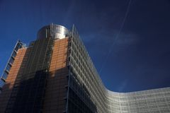 EU Building Royalty Free Stock Photography