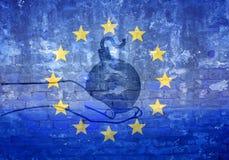 EU crisis Royalty Free Stock Image