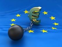 EU debt crisis Stock Image