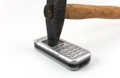 Eu deio o telefone móvel Foto de Stock Royalty Free