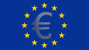 EU-ekonomi royaltyfri illustrationer