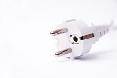 EU electric plug Royalty Free Stock Images