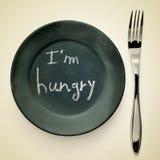 Eu estou com fome Foto de Stock Royalty Free