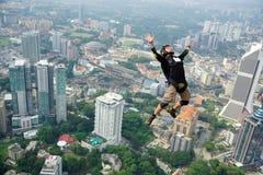 Eu estou livre no céu Fotografia de Stock