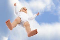 Eu estou voando! Fotografia de Stock
