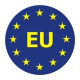 EU European union. European union circle with EU Royalty Free Stock Photography