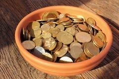 EU (European Union coins) Stock Image