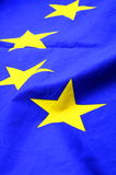 Eu or european union flag. In blue with yellow stars Stock Photos