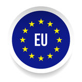 EU - European Union logo symbol. Vector Stock Photos