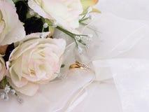 Eu faço - folheto do casamento Imagens de Stock