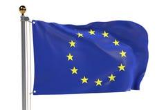 EU flag Стоковое Изображение