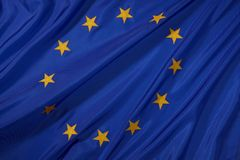 EU Flag. The official flag of the European Union Royalty Free Stock Photography
