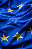 EU Flag. Euro Flag. Flag of European Union waving in the wind. Detailed star flag Euro Stock Images
