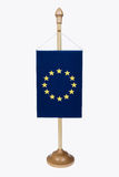 EU flag . Royalty Free Stock Photo