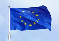 EU flag Royalty Free Stock Image