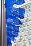 EU flag royalty free stock photos