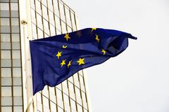 Eu flag Royalty Free Stock Photo