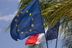 EU and France Stock Photos