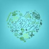 Eu gosto da biologia 02 A ilustração royalty free