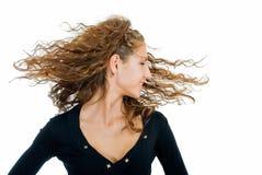Eu gosto de meu cabelo Fotografia de Stock
