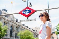 Eu gosto do Madri Imagem de Stock